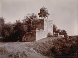 Chattree of Sultan Sing [sic] in Deeg fort